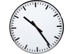 A classic round, black and white wall clock is part of everyone's memories of kitchens and classrooms. Without numbers, this analog version is ideal for the minimalist. Modular Living Room Furniture, Living Room Furniture Inspiration, Luxury Furniture, White Wall Clocks, Rustic Wall Clocks, Modern Kids Bedroom, Living Room Modern, Clock Decor, Best Interior Design
