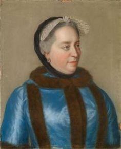 Jean Etienne Liotard - Portrait Der Kaiserin Maria Theresia Von Österreich