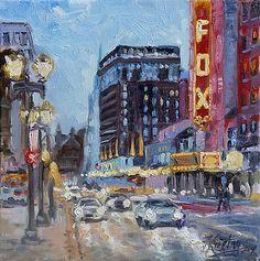 Fox Theatre on Grand Boulevard St.Louis by Irek Szelag