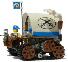 ...Steampunk Lego Wagon