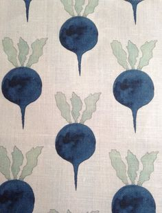 Radish Moon's textiles collection features hand-illustrated ink and watercolor designs printed on Belgian linen. Motifs Textiles, Textile Patterns, Textile Design, Fabric Design, Pattern Design, Pretty Patterns, Color Patterns, Floral Patterns, Creation Art