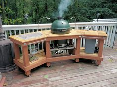 Ceramic Cooker Table Gallery -- The Naked Whizs Ceramic Charcoal Cooking