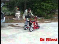 Scooter Pliant R30 DI BLASI - Evol Mobilités - YouTube CON REVERSA Y ASIENTO DE MUJER!