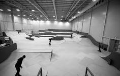 Image result for skateboard park in california indoor