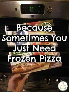 Jenn can't be the only one with a thing for frozen pizza, can she? | Fit Bottomed Eats