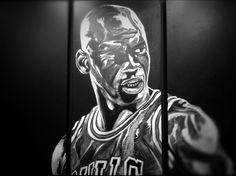 MJ in canvas by MelonKicks