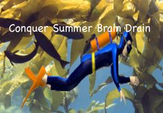 It's time to tackle Summer Brain Drain again. For some of us it's already here. How do we keep our kids' brains active out of school?
