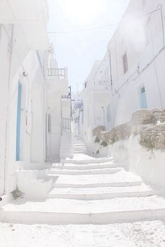 Santorini, Greece (Step Logo Stairs)
