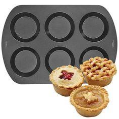 Wilton Mini Pie Pan 6 Cavity