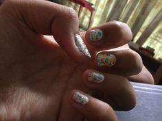 My new sprinkles for life nail art design for spring !!!!