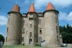 CHÂTEAU DE MONTFORT -- VERNET-LA-VARENNE  XIIème siècle
