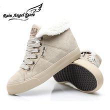 Botas de Nieve de moda Para Las Mujeres Botas de Invierno de Color Sólido Del Todo-Fósforo Aumentó Zapatos Calientes Botas Cortas Barcos Femenino(China (Mainland))