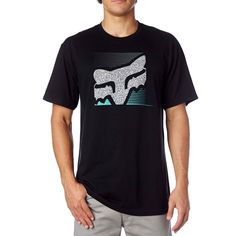 ddaa2bfbe Fox Racing Men's Home Bound Cotton Blend T-Shirt Foxhead Mx Short Sleeve  Tee Camisetas
