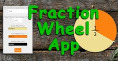 Fraction Wheel App is an interactive education webapp to help teachers and parents teach concepts in fractions. The wheel position snaps to fractions whose denominators are indicated by the user. The value of the fraction is shown at the center and can be turned on and off by clicking the center of the wheel.