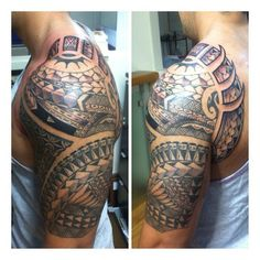 Started this one about a year ago. Stoked r came in to let me finsh it #newporttattoo #polynesiantattoo #polytat #teampoly #polynesian #art #polynesiantribal #tribal #ink #picoftheday #tattoo #tatau #tat #hawaii #cali #oc #maui #mauitattoo #art #mauinokaoi #hawaiian