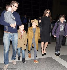 The Beckham family!