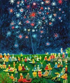 Sav Fireworks Show, 4th Of July Fireworks, July 4th, Vintage Stuff, Retro Vintage, Independence Day Fireworks, Free Online Jigsaw Puzzles, Cute Pictures, City Photo