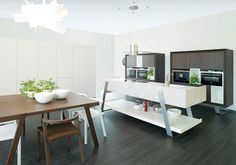 25 Modern and Functional Kitchen by Porcelanosa