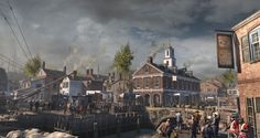 AC III - Boston docks