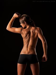 Bringing Sexy Back. Literally. Training to improve your posture and looking sexy in a backless dress.
