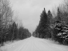 Snowmobiling, Northern Michigan