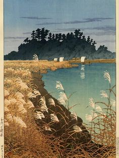 KAWASE Hasui (1883~1919), Japan/ woodblock print 川瀬 巴水