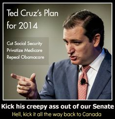 I don't think our Canadian friends want Ted Cruz back either