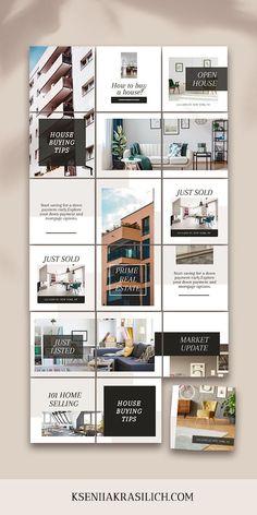 Instagram Feed Layout, Feeds Instagram, Instagram Grid, Instagram Post Template, Instagram Design, Instagram Feed Ideas Posts, Social Media Template, Social Media Design, Social Media Graphics