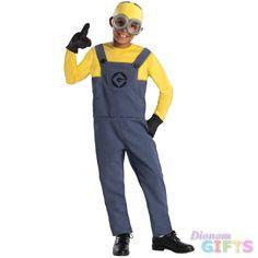 Boy's Costume: Despicable Me 2 Minion Dave-Small