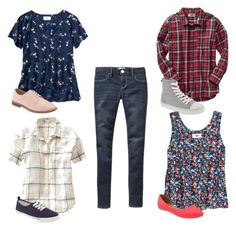 Old Navy Girls Jeggings 4 - Ways by nessiecullen2286 on Polyvore featuring Old Navy