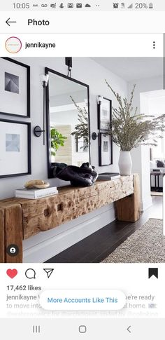 Provencal decoration: decorate your home with this style - Home Fashion Trend Entrance Ways, Wooden Slats, Home Fashion, Entryway Decor, Home Entrance Decor, Kitchen Entryway Ideas, Hallway Ideas, Entryway Bench, Decoration