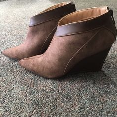 Michael Antonio short wedge boots Brand new Michael Antonio short wedge boots Michael Antonio Shoes Ankle Boots & Booties
