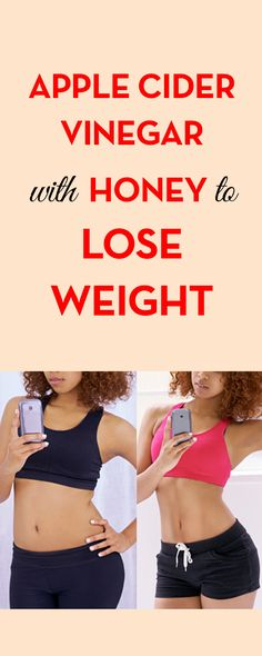 Apple Cider Vinegar with Honey to Lose Weight