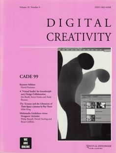 Neural [Archive] Digital Creativity - CADE 99 edited by Colin Beardon and Lone Malmborg Swets & Zeitlinger Publisher http://archive.neural.it/init/default/show/2405