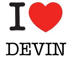 I Heart Devin #love #heart