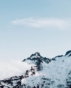 Little Tahoma, Mt. Rainer, Washington pinterest: saltykisses17 • ig: magii_d •
