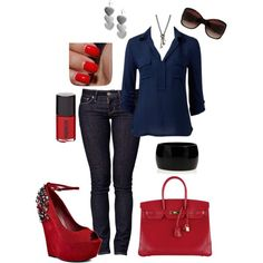 Blues and Reds...i love...