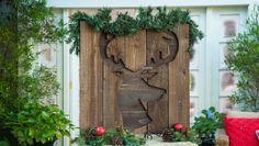 DIY Rustic & Glitter Reindeer
