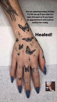 Pretty Hand Tattoos, Dainty Tattoos, Hot Tattoos, Mini Tattoos, Finger Tattoos, Body Art Tattoos, Sleeve Tattoos, Hand Palm Tattoos, Tatoos
