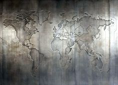 Based Upon - World map #metal