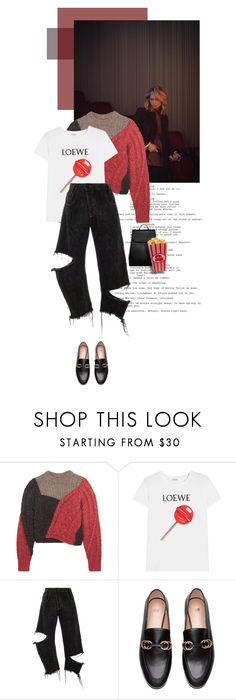 """""""Cinema day"""" by juhh ❤ liked on Polyvore featuring Étoile Isabel Marant, Loewe, Monse, CHARLES & KEITH and Juliajulian"""