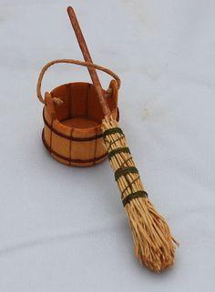 Thomas Iacono. Sir Thomas Thumb - Early Farm Broom and Bucket