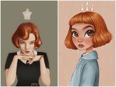 Gambit Movie, Anya Taylor Joy, Black Art, Disney Characters, Fictional Characters, Disney Princess, Movies, Queen, Tv