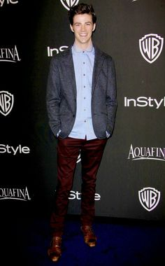 Grant Gustin looking AMAZING at the InStyle party last night Thomas Grant Gustin, The Flash Grant Gustin, Barry Allen Flash, Le Flash, Dc Comics, Cw Series, Fastest Man, Supergirl And Flash, Dc Legends Of Tomorrow