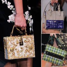 2014 RUNWAY Bags | Bella Bags Straight from Milan's Spring 2014 Runways