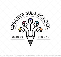 Branding for play schools. It can also be used by art schools and craft classes. #LogoDesign #Logodesigner #logomaker #businessgrowth #startups #branding #Inspirational