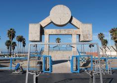 En las playas de #LosAngeles también puedes realizar actividades física ¡Disfruta #Venice! http://www.bestday.com.mx/Los-Angeles-area-California/Atracciones/