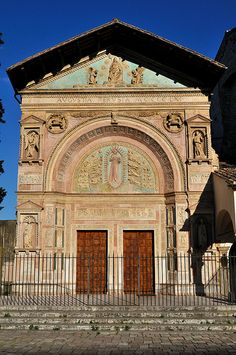 Oratorio di San Bernardino, Perugia, Umbria, Italy