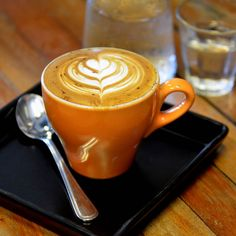 The most delicious coffee art making at home..