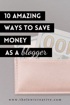 Do you want to know how to start saving money as a blogger? There are so many money saving tips out there and I have compiled the main ones. Click to read the best money saving tips and tricks for bloggers! #moneytips #savingsideas #budgetingmoney